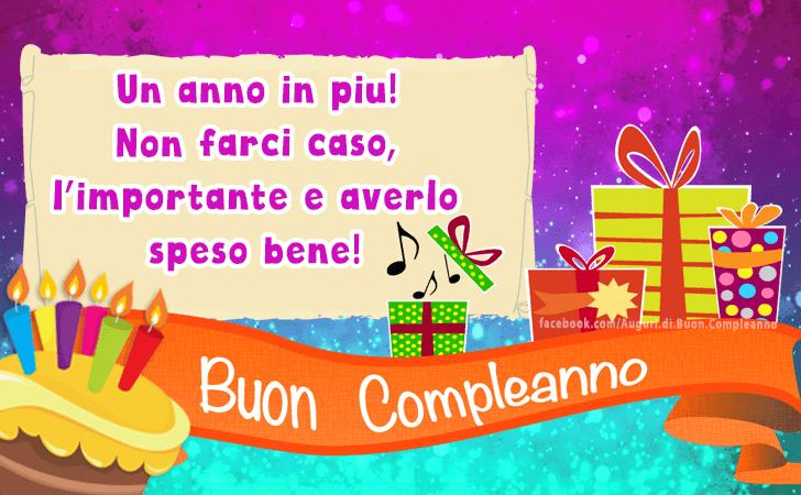 Auguri Di Buon Compleanno Cartoline Biglietti Messaggi E Frasi
