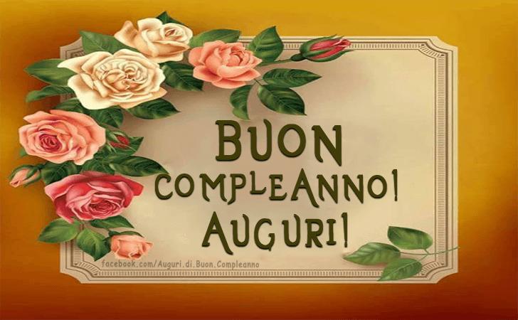 Buon Compleanno! Auguri!(Frasi e Immagini)