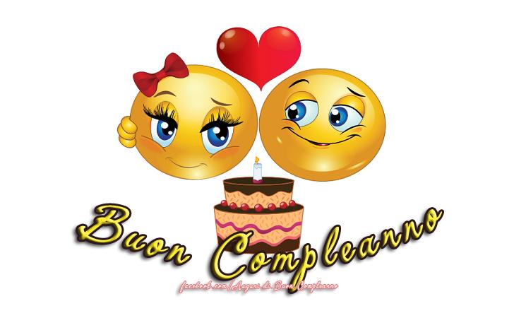 Popolare Emoticon Buon Compleanno YA91 » Regardsdefemmes UD74