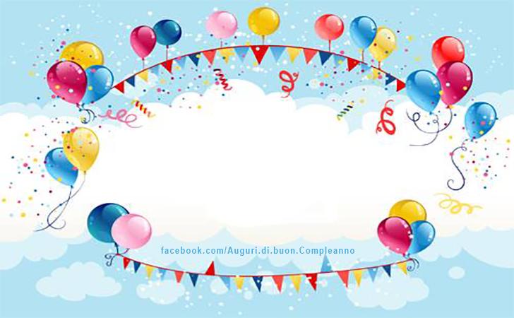 Amato Auguri di Buon Compleanno - Personalizzati HX87