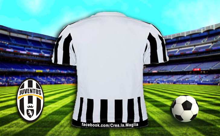 Crea la Maglia - Juventus