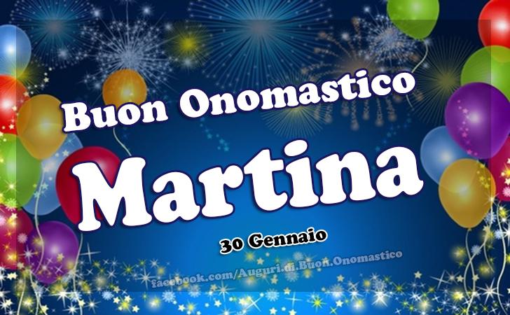 Onomastico Martina (30 Gennaio) - Auguri, frasi e immagini - Buon Onomastico Martina (30 Gennaio) - Auguri, frasi e immagini