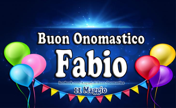 Onomastico Fabio (11 Maggio)