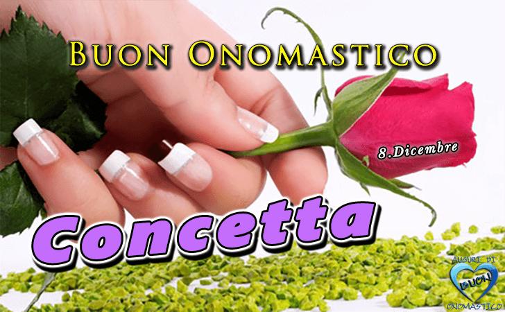 Amato di buon Onomastico | Buon Onomastico Concetta! UV61