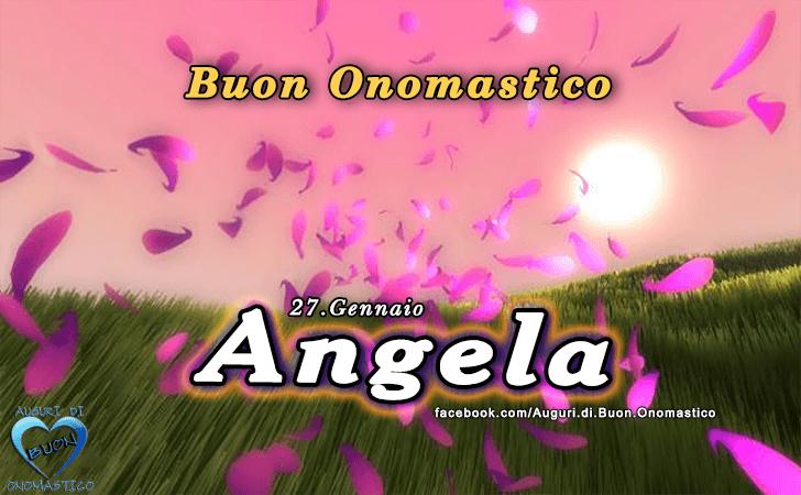 Favorito di buon Onomastico | Buon Onomastico Angela! AF26