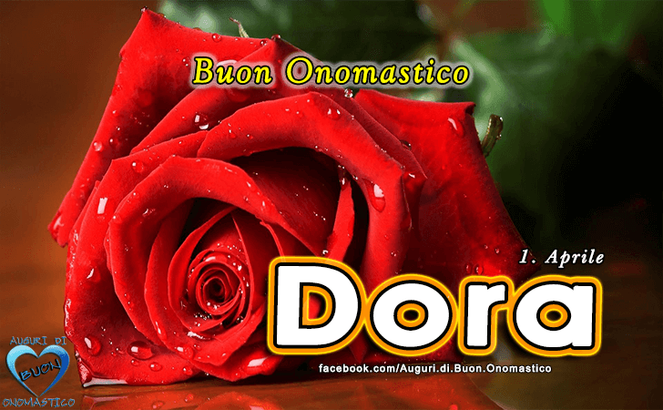 Buon Onomastico Dora! - Buon Onomastico Dora!