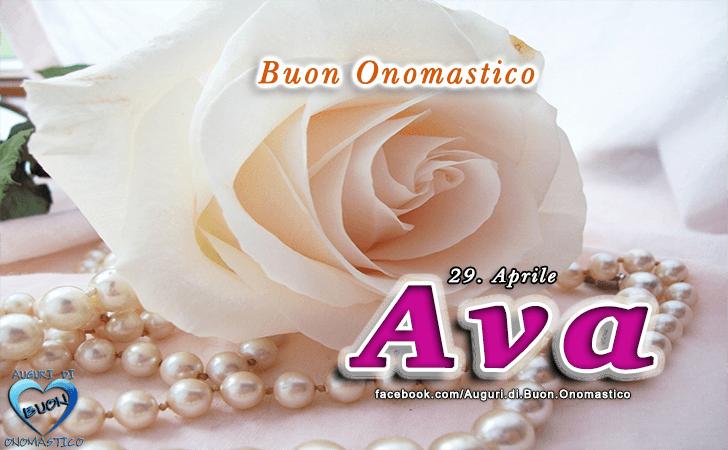 Buon Onomastico Ava! - Buon Onomastico Ava!