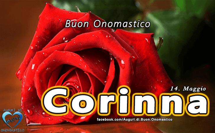 Buon Onomastico Corinna! - Buon Onomastico Corinna!