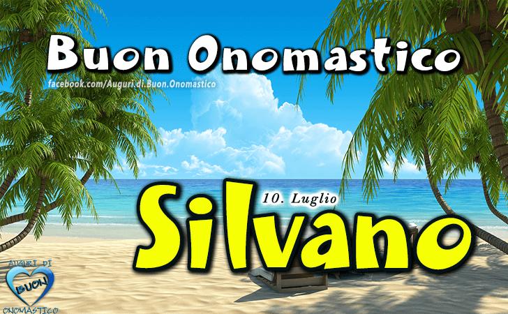 Buon Onomastico Silvano! - Buon Onomastico Silvano!