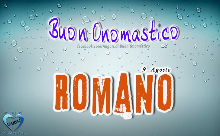 Auguri Matrimonio Rumeno : Auguri di buon onomastico romano
