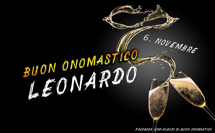 Onomastico Leonardo 6 novembre - Onomastico del nome Leonardo - Buon Onomastico Leonardo