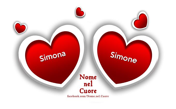 Simone e Simona - Buon Onomastico - Simone e Simona - Auguri di Buon Onomastico