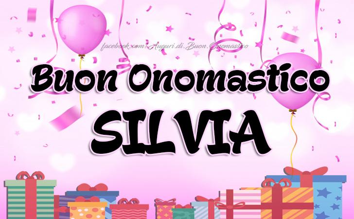 Buon Onomastico SILVIA - Buon Onomastico SILVIA - AUGURI a tutte le persone che portano questo nome... 3. Novembre 🎁🎈🌹