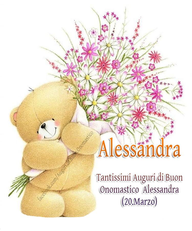 Buon Onomastico  Alessandra (20.Marzo) - Alessandra - Tantissimi Auguri di Buon Onomastico  Alessandra (20.Marzo)