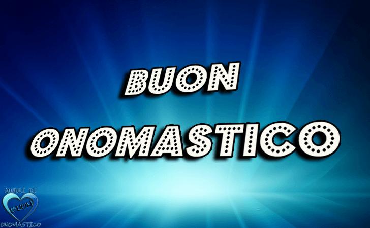 Buon Onomastico! - Buon Onomastico!