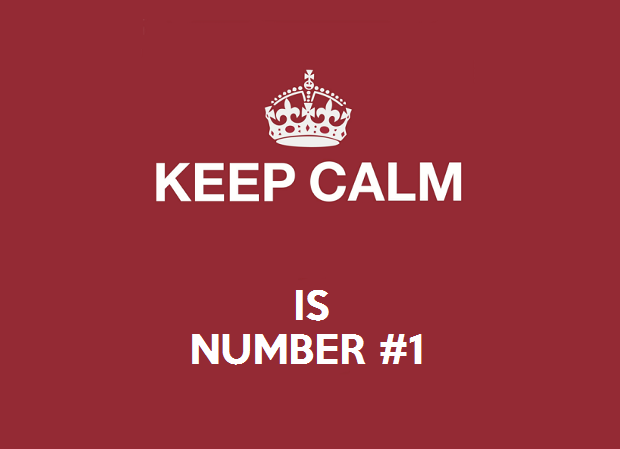 keep calm is number 1 make your own keep calm poster