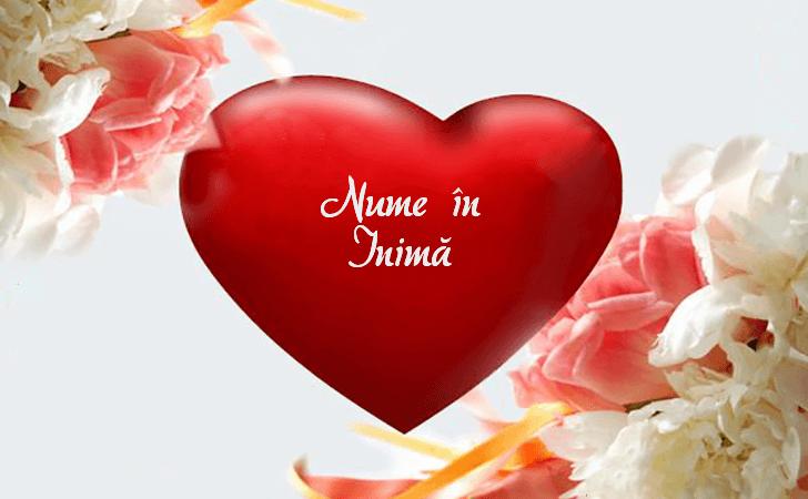 Nume în Inimă - ♥ Creează o inimă cu un nume ♥