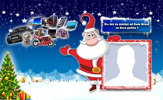 Šta ćeš da dobiješ od Deda Mraza  za Novu godinu ?