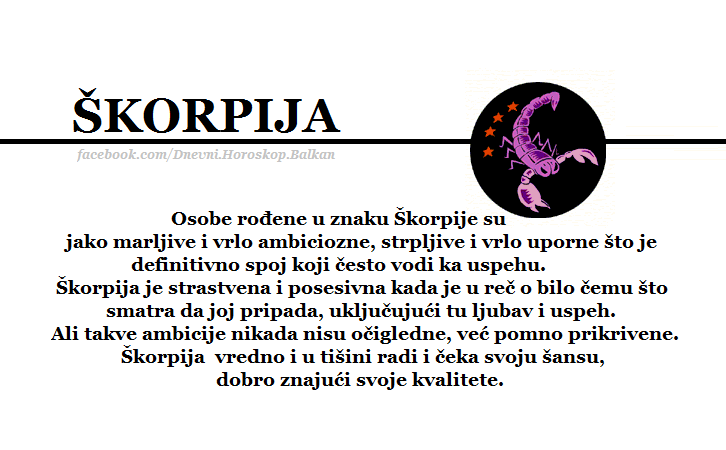 Horoskop | Karakteristike znakova | Horoskopski znakovi i njihove karakteristike